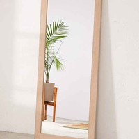 Simple Wooden Mirror