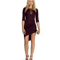 Eggplant The One You Need Dress
