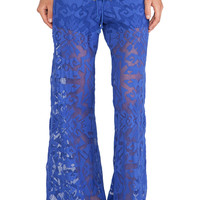 Alexis Lille Wide Leg Pants in Blue