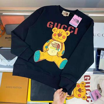 GUCCI GG autumn and winter loose trend casual round neck sweater