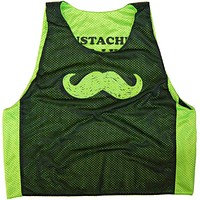 Mustaches Save Lives Lacrosse Pinnie