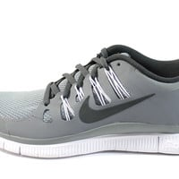 Nike Men's Free 5.0 Cool Gray/White Running Shoes 579959 001