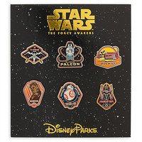 Star Wars: The Force Awakens Pin Trading Booster Set - Disney Parks 2016