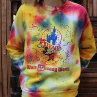 15 Years Walt Disney World Tie Dye Sweatshirt