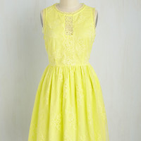 Urban and Auroral Dress in Daffodil | Mod Retro Vintage Dresses | ModCloth.com