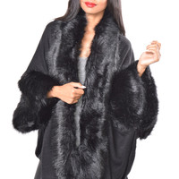 Vegan Fox Fur Coat