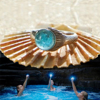 The Real Mako Mermaid Ring Sterling Silver 925 + FREE Shell Box! size 3 to 13 Mako Island of Secrets MoonPool Moon Pool Sirena Lyla Nixie