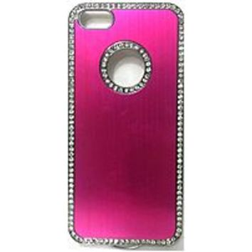 B Couture 890968404459 Metallic Bling Case for iPhone 5/5S - Pink