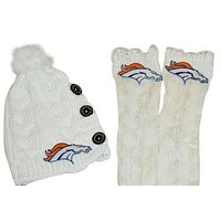 Broncos Leg Warmers and or Beanie