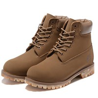 Timberland 10061 anti-fatigue outdoor classic high-top shoe boots camel