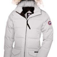 CANADA GOOSE winter women solaris papka jacket/white