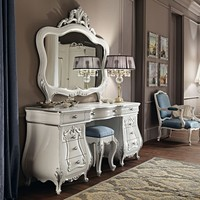 Solid wood dressing table 11212 Villa Venezia Collection by Modenese Gastone group