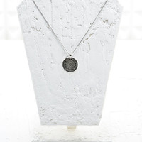 Compass Pendant in Silver - Urban Outfitters