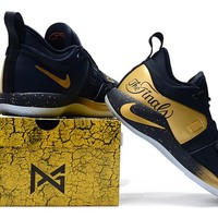 Zoom Paul George PG 2.5 - Navy/Gold