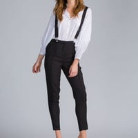 On The Low Suspender Pants