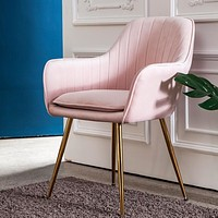 Luxury Metal Framed Elegant Chair