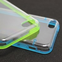Luminous Glow in the Dark Cover Case for iPhone 5C (Set of 2: Blue + Green)
