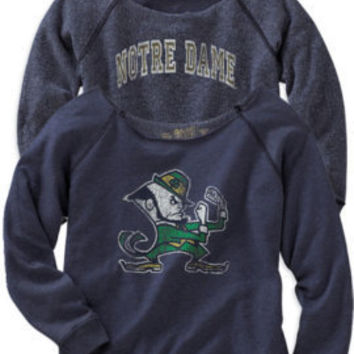 WILDCAT APPAREL GROUP, INC : F1241B Scoopneck Reversible Crew : Hammes Notre Dame Bookstore : www.nd.bkstr.com