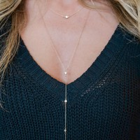 DAINTY OBSESSIONS NECKLACE - GOLD