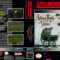 Addams Family Values - Super Nintendo (Ugly Game Only)