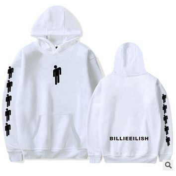 Billy Ellish Activity Peripheral Products Printed Hat Guards Hoddies