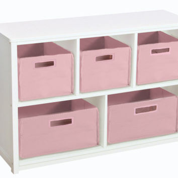 Guidecraft Classic White Bookshelf - G85707