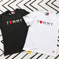 Tommy Hifiger Tommy Jeans Cute Short sleeve T-shirt-1