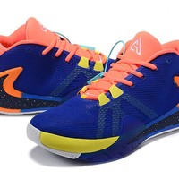 Nike Zoom Freak 1 PE - Royal Blue/Orange