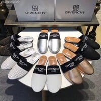 """""""Givenchy"""" New Flat Sandals, Slippers"""