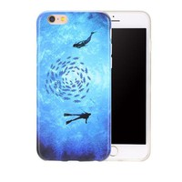 Ultra Thin Artistic Phone Cases For iPhone 7 / 7 Plus