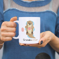 Grandmotter Funny Mugs Cute Mother's Day Gift for Grandmother