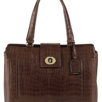 Handbags   25-40% Off Select Handbags   Lafayette Croc-Embossed Leather Tote Bag   Lord and Taylor