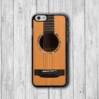 Music Tone Woods Guitar Folk iPhone iPhone 6 Cover, iPhone 6 Plus, iPhone 5S/5C Hard Case, Soft Silicon, Plastic iPhone 4 Accessory Gift