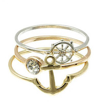 Variety Anchor Ring Set (3 Pieces)