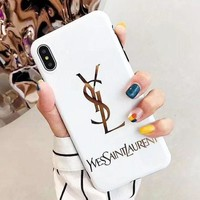 YSL Case for iPhone XS Max/XR 7P 6S