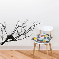 Wall Decal Vinyl Sticker Decals Tree Branch Without Leafs Bedroom Interior Modern (z3010)