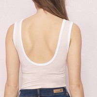 Deep Scoop Back Bodysuit