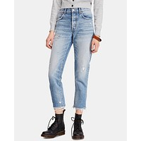 Free People - Good Times Relaxed Skinny - November Rain