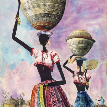 The Fulanis (giclee on photo paper) *** $pecial Offer ***