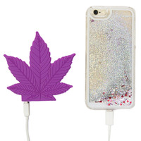 PURPLE HAZE PORTABLE PHONE CHARGER