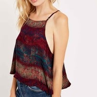 Silence + Noise Tarlee Open-Back Cami - Urban Outfitters
