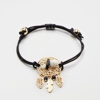 Black Dreamcatcher Healing Stone Bracelet | Charms & Sets | rue21