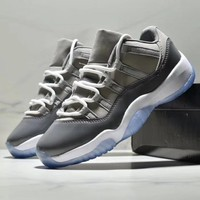 NIKE Nike Air Jordan 11 AJ11 Antiskid and Wear-Resistant Sports Shoes with Low-Up Basketball Shoes