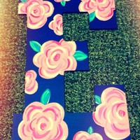 Hand painted letter 13""