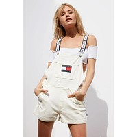 Tommy Jeans '90s Shortall Overall | Urban Outfitters