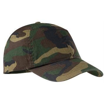Port Authority Camouflage Cap.