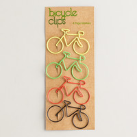 Bicycle Paper Clips, Set of 4 - World Market