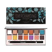 ROPALIA 14 Color Matte Shimmer Colorful Waterproof Makeup Eyeshadow Palette (A)