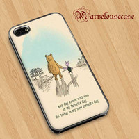 Winnie The Pooh quotes Custom case for all phone case