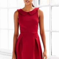 Cooperative Ponte Collared Dress